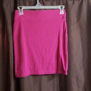 💥Fushia skirt sz small